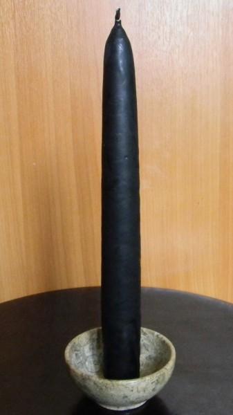 Свеча черная большая